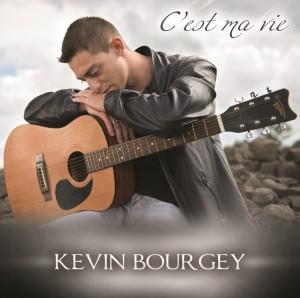 Pochette album c'est ma vie - Kévin Bourgey