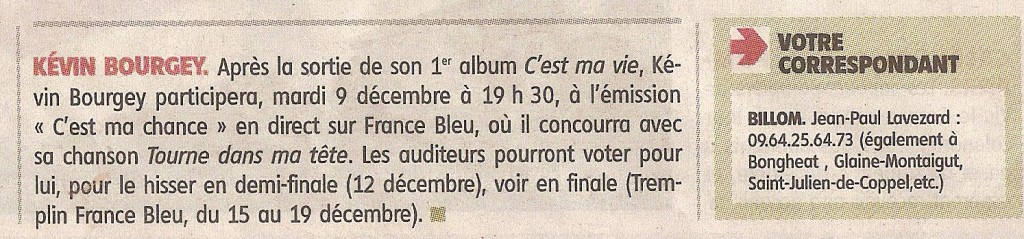 article la montagne 27.11.2014